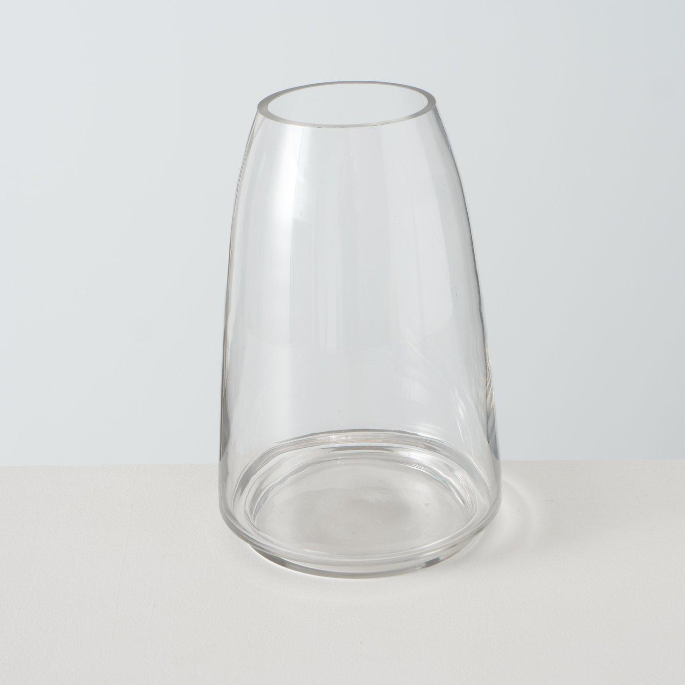 Windlichtglas FILIO, 25 cm mit Unterteller
