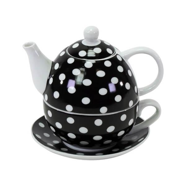 """Tea-for-One """"Dots"""" in Geschenkbox"""