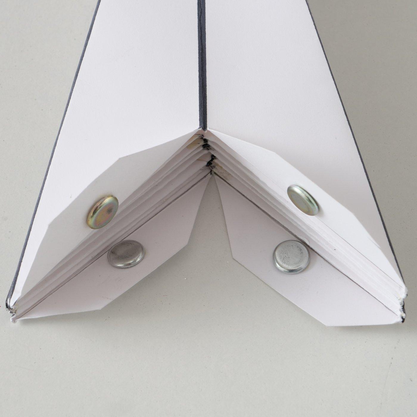 Papierstern ADVENT Stern 7 Zacken 40 cm