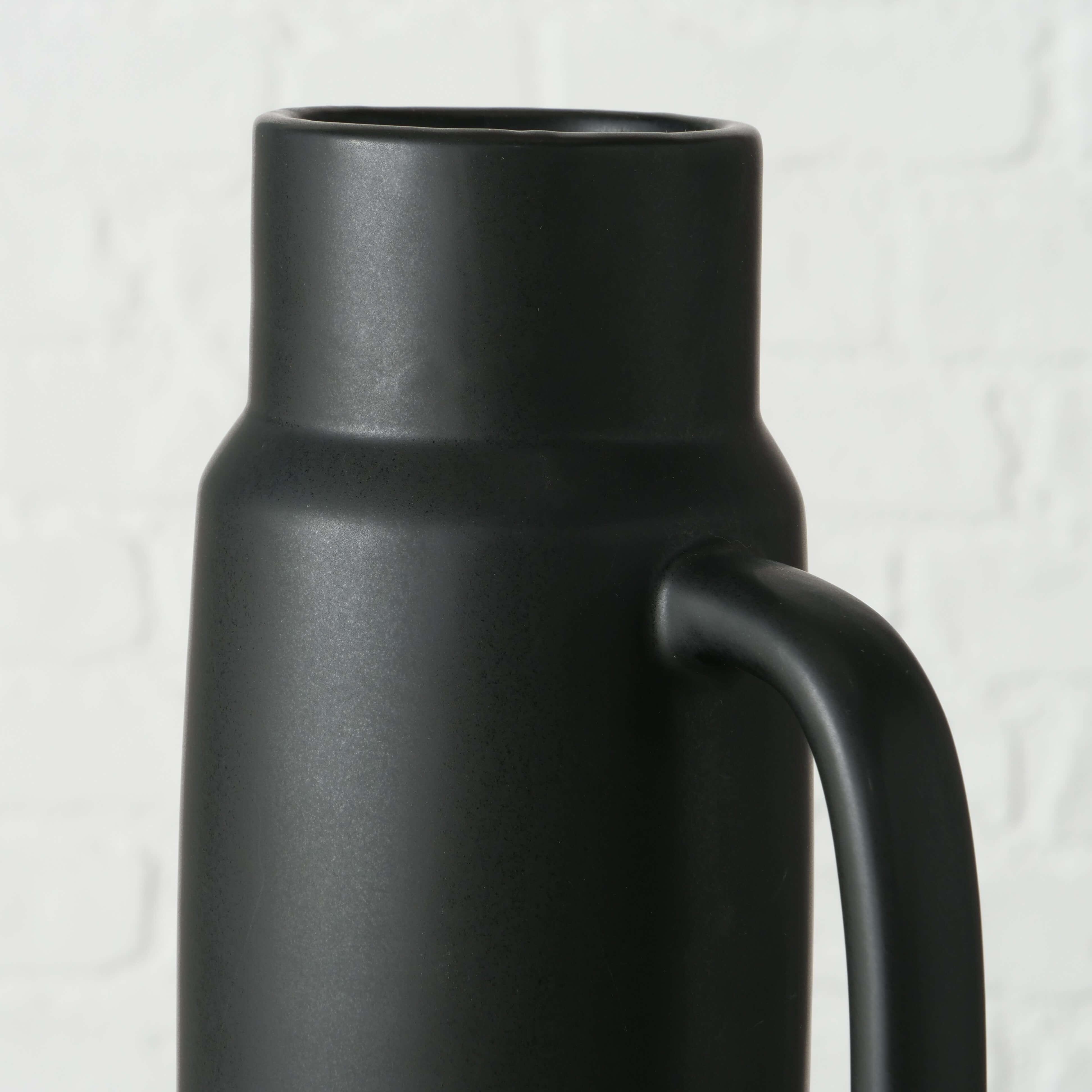 Vase PALERMO mit Henkel, Keramik 31 cm