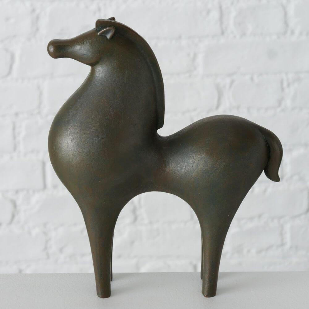 Andalusische Pferdefiguren 2er Set, 22 cm