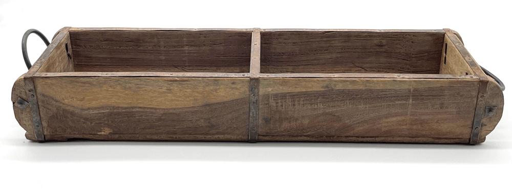 Alte Ziegelform Lade Unikat 57 cm