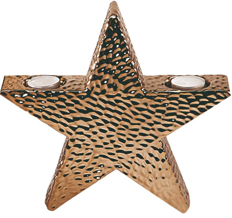 Deko-Stern, Teelichthalter, 27 cm