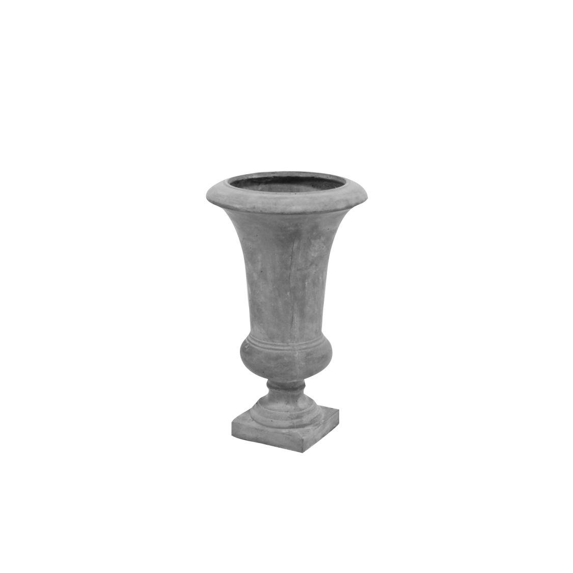 61 cm, Französische Vase/Pflanzgefäß/Amphore 61 cm